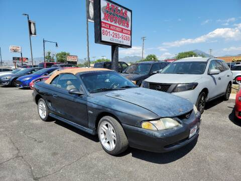 1998 Ford Mustang for sale at ATLAS MOTORS INC in Salt Lake City UT