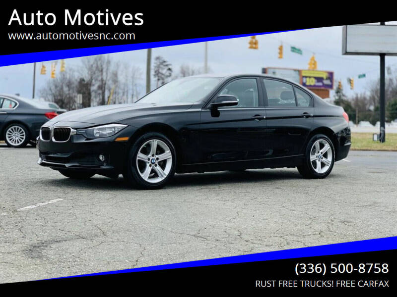 2014 BMW 3 Series for sale at Auto Motives in Greensboro NC