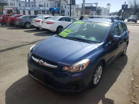 2013 Subaru Impreza for sale at TC Auto Repair and Sales Inc in Abington MA