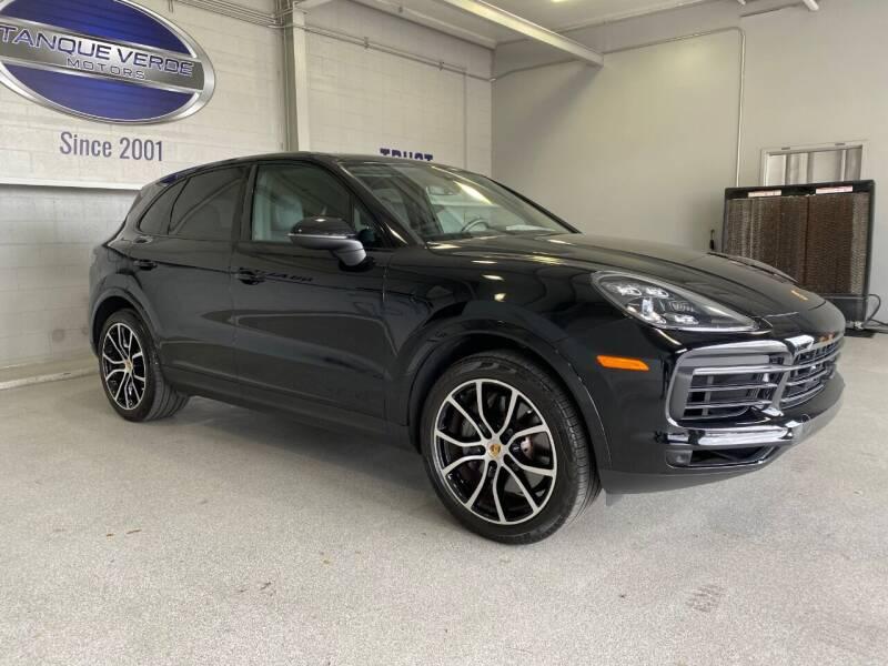 2019 Porsche Cayenne for sale at TANQUE VERDE MOTORS in Tucson AZ