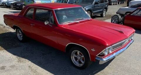 1966 Chevrolet Chevelle for sale at Past & Present MotorCar in Waterbury Center VT