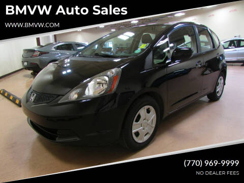 2013 Honda Fit for sale at BMVW Auto Sales in Union City GA