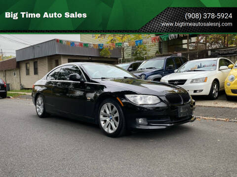 2011 BMW 3 Series for sale at Big Time Auto Sales in Vauxhall NJ