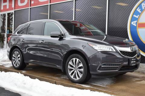2014 Acura MDX for sale at Alfa Romeo & Fiat of Strongsville in Strongsville OH