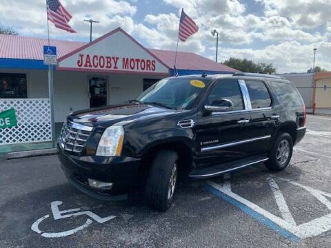 2007 Cadillac Escalade for sale at Jacoby Motors in Fort Myers FL
