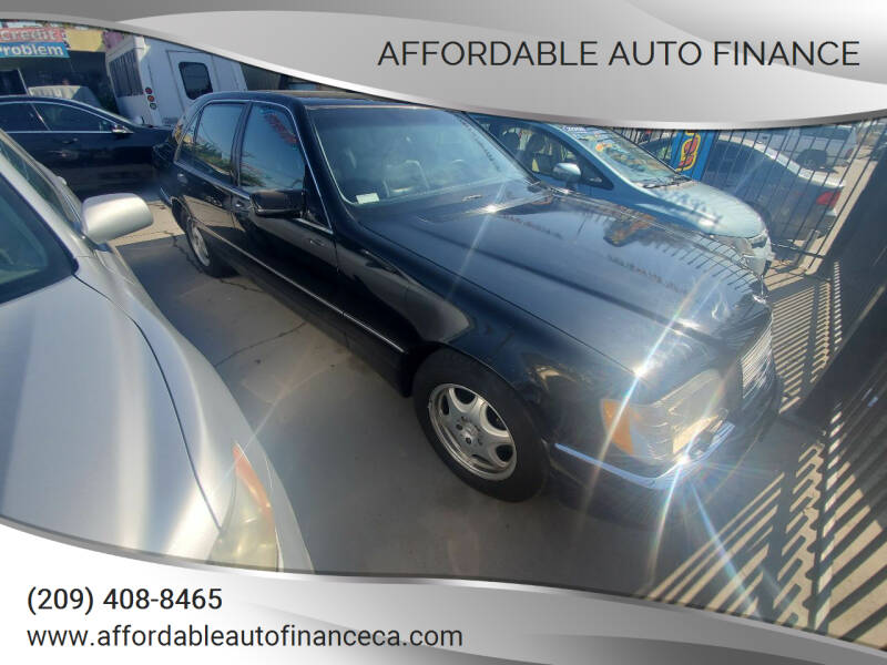 1997 Mercedes-Benz S-Class for sale at Affordable Auto Finance in Modesto CA