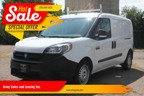 2016 RAM ProMaster City Cargo for sale at Ariay Sales and Leasing Inc. - Pre Owned Storage Lot in Denver CO