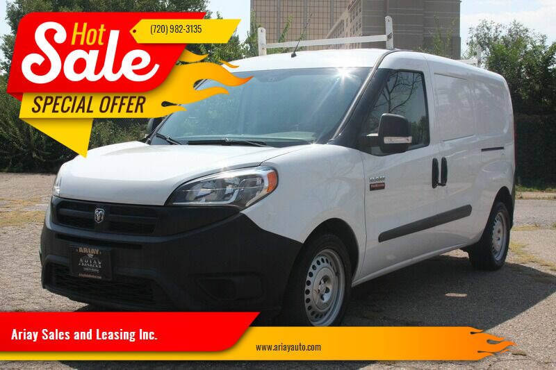 2016 RAM ProMaster City Cargo for sale at Ariay Sales and Leasing Inc. in Denver CO