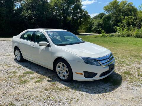 2010 Ford Fusion for sale at Tennessee Valley Wholesale Autos LLC in Huntsville AL