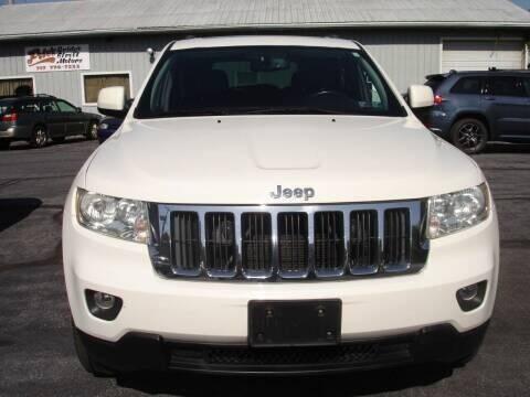 2012 Jeep Grand Cherokee for sale at Pete's Bridge Street Motors in New Cumberland PA