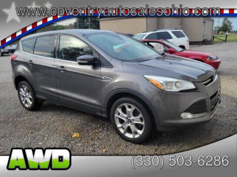 2013 Ford Escape for sale at Coventry Auto Sales in Youngstown OH