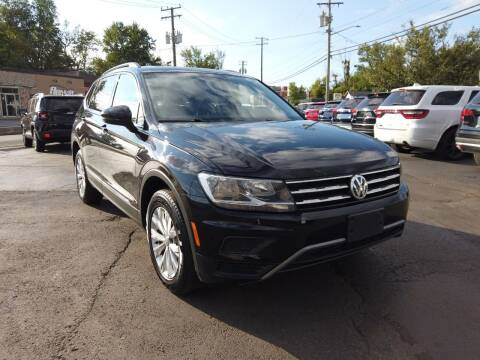 2018 Volkswagen Tiguan for sale at RS Motors in Falconer NY