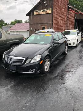 2011 Mercedes-Benz E-Class for sale at Selective Wheels in Windber PA