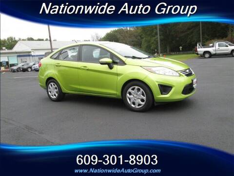 2013 Ford Fiesta for sale at Nationwide Auto Group in East Windsor NJ