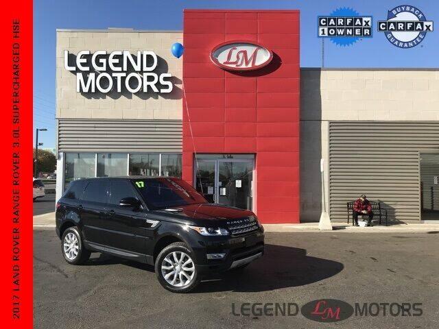 2017 Land Rover Range Rover Sport for sale at Legend Motors of Detroit - Legend Motors of Ferndale in Ferndale MI