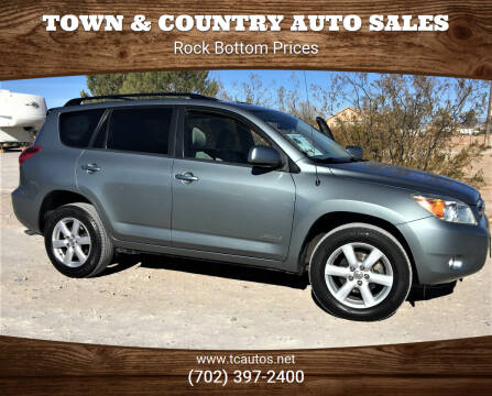 2006 Toyota RAV4 for sale at TOWN & COUNTRY AUTO SALES in Overton NV