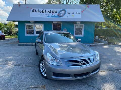 2009 Infiniti G37 Sedan for sale at Autostrade in Indianapolis IN