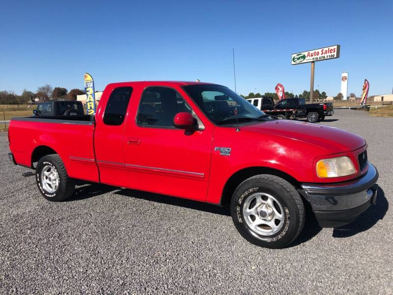 1998 Ford F-150 3dr XLT Extended Cab SB - Fort Gibson OK