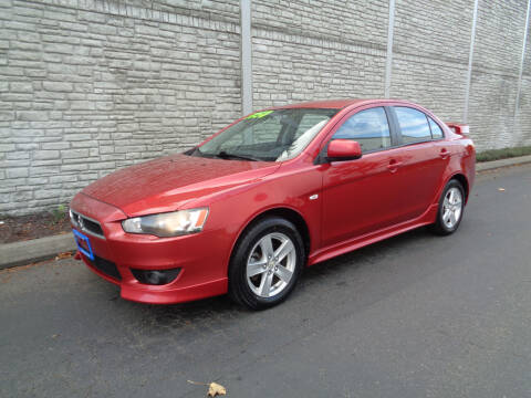 2009 Mitsubishi Lancer for sale at Matthews Motors LLC in Algona WA