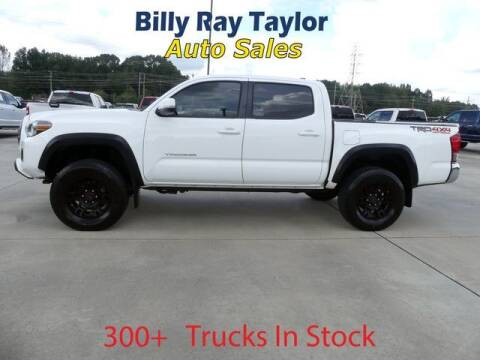 2016 Toyota Tacoma for sale at Billy Ray Taylor Auto Sales in Cullman AL