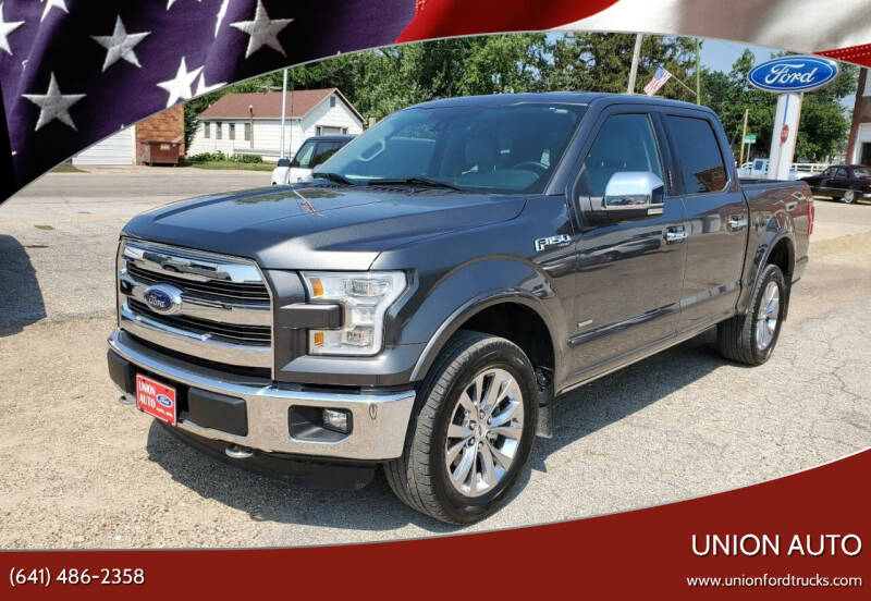 2016 Ford F-150 for sale at Union Auto in Union IA