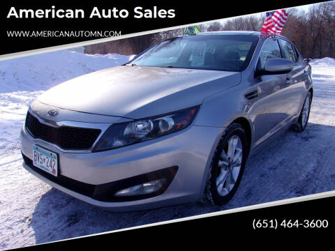 2011 Kia Optima for sale at American Auto Sales in Forest Lake MN