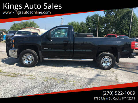 2015 Chevrolet Silverado 2500HD for sale at Kings Auto Sales in Cadiz KY