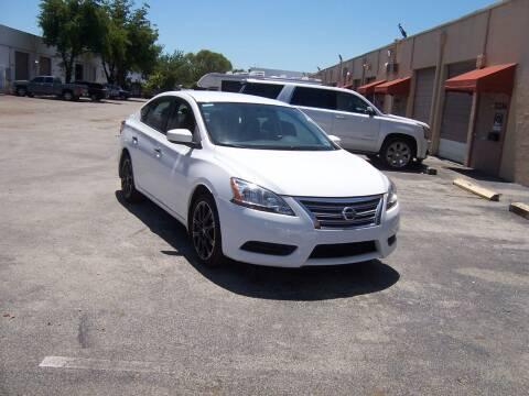 2015 Nissan Sentra for sale at Auto Credit & Finance Corp. in Miami FL