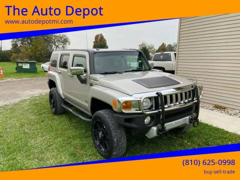 2008 HUMMER H3 for sale at The Auto Depot in Mount Morris MI
