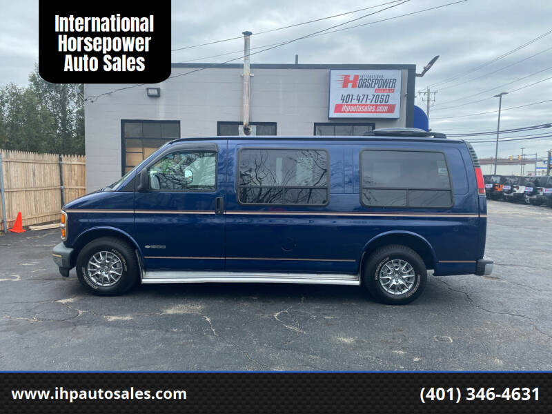2001 Chevrolet Express Cargo for sale at International Horsepower Auto Sales in Warwick RI