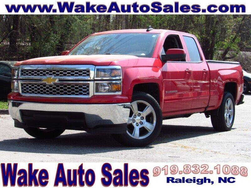 2015 Chevrolet Silverado 1500 for sale at Wake Auto Sales Inc in Raleigh NC