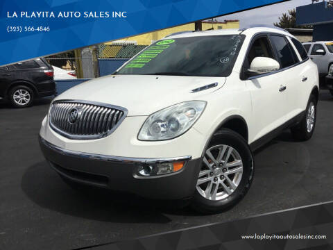 2012 Buick Enclave for sale at LA PLAYITA AUTO SALES INC in South Gate CA