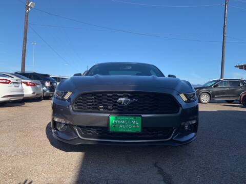 2017 Ford Mustang for sale at Primetime Auto in Corpus Christi TX