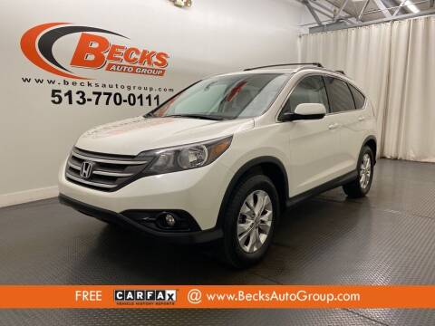 2014 Honda CR-V for sale at Becks Auto Group in Mason OH