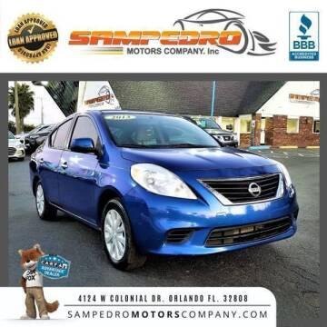 2013 Nissan Versa for sale at SAMPEDRO MOTORS COMPANY INC in Orlando FL