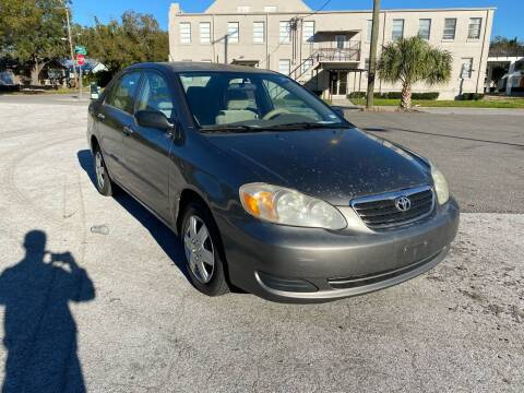 2006 Toyota Corolla for sale at LUXURY AUTO MALL in Tampa FL