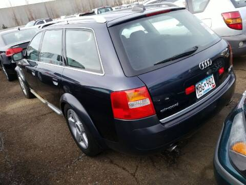 2004 Audi Allroad for sale at Affordable 4 All Auto Sales in Elk River MN