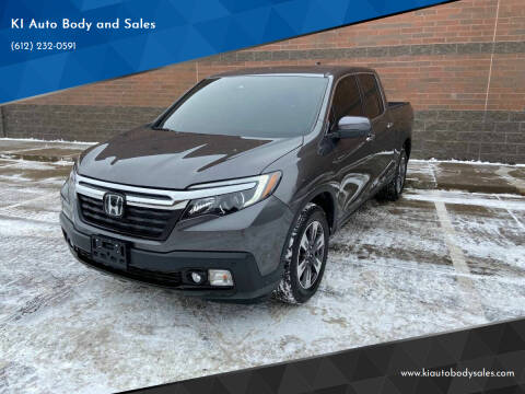 2017 Honda Ridgeline for sale at KI Auto Body and Sales in Lino Lakes MN