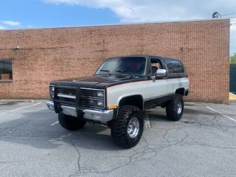 1983 Chevrolet Blazer for sale at Great Lakes Classic Cars & Detail Shop in Hilton NY