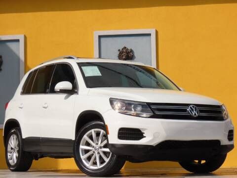 2017 Volkswagen Tiguan for sale at Paradise Motor Sports LLC in Lexington KY