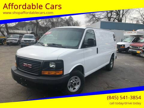 2014 GMC Savana Cargo for sale at Affordable Cars in Kingston NY