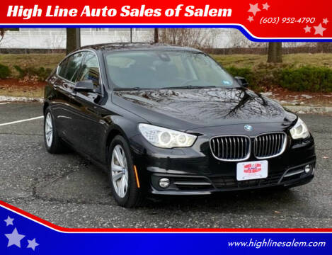 2017 BMW 5 Series for sale at High Line Auto Sales of Salem in Salem NH
