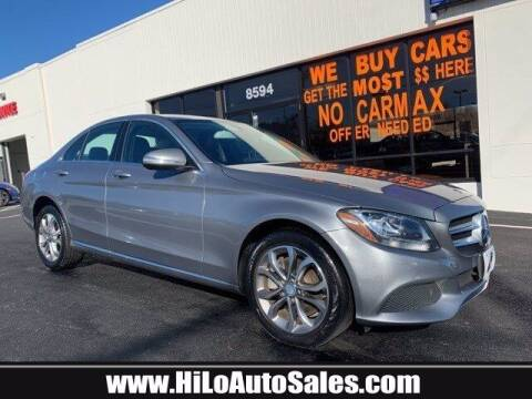 2015 Mercedes-Benz C-Class for sale at Hi-Lo Auto Sales in Frederick MD