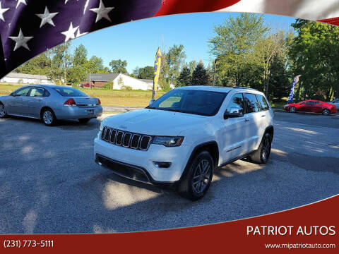 2017 Jeep Grand Cherokee for sale at Patriot Autos in Muskegon MI