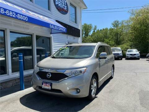 2013 Nissan Quest for sale at Best Price Auto Sales in Methuen MA