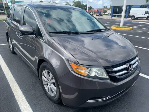 2014 Honda Odyssey for sale at Eden Cars Inc in Hollywood FL
