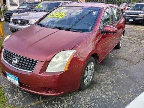 2007 Nissan Sentra for sale at Arak Auto Group in Bourbonnais IL