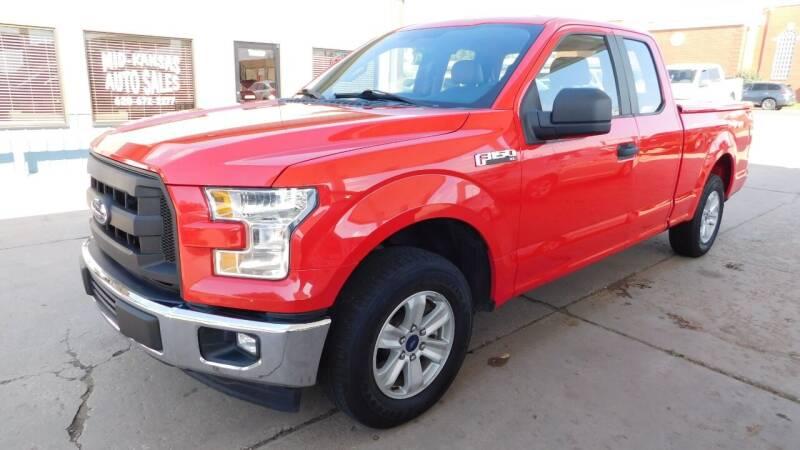 2016 Ford F-150 for sale at Mid Kansas Auto Sales in Pratt KS