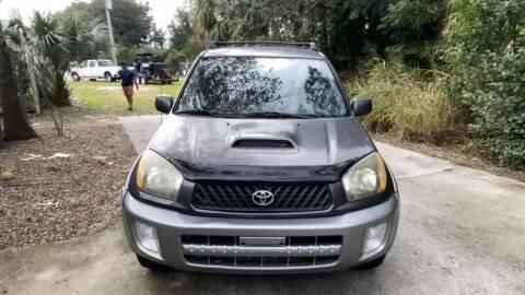 2003 Toyota RAV4 for sale at Mycarsonline LLC in Sanford FL