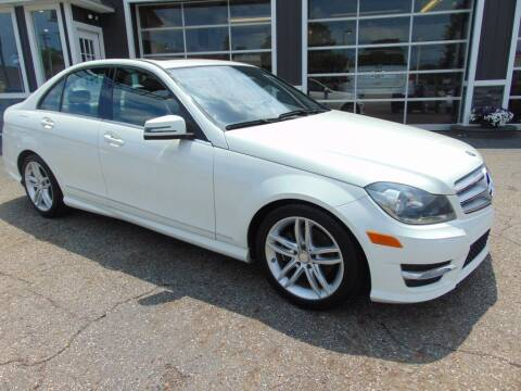 2012 Mercedes-Benz C-Class for sale at Akron Auto Sales in Akron OH